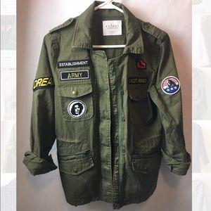 Velvet by Graham Spencer military jacket
